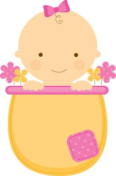 Baby pictures clipart girl vector free library 121 Best baby girl clipart images in 2017 | Baby girl clipart, Baby ... vector free library