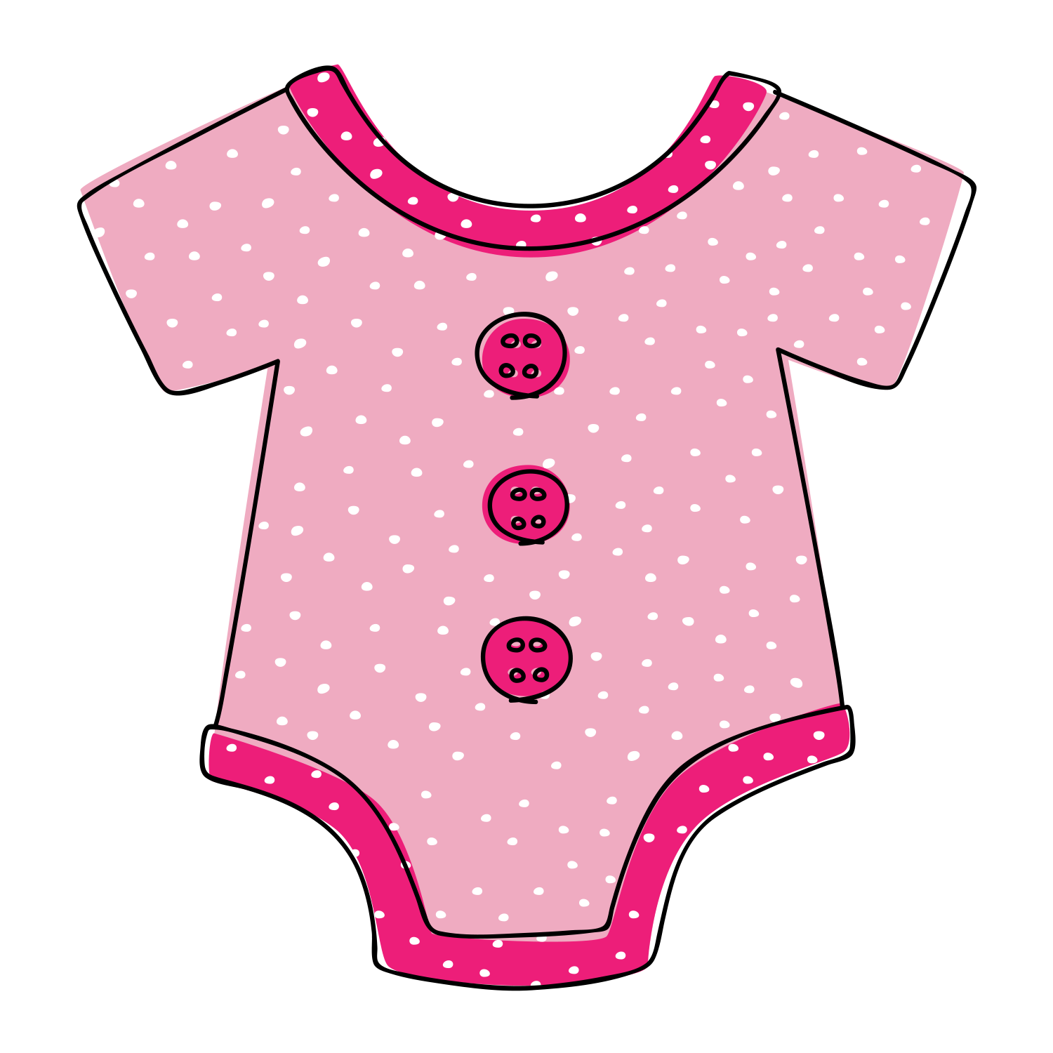 Baby pink onesie clipart picture transparent Free Downloadable Baby Onesie Clipart - Tulamama picture transparent