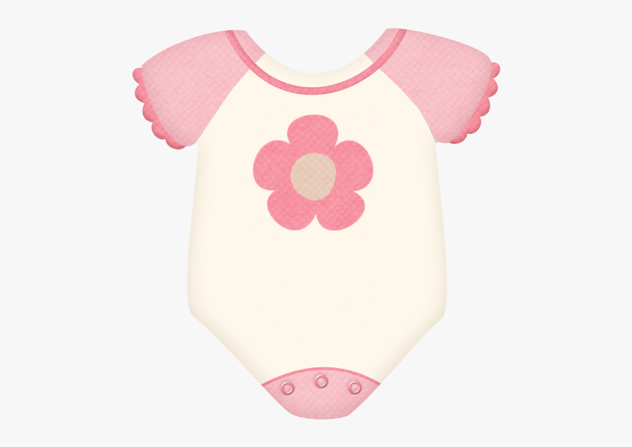 Baby pink onesie clipart png transparent download Baby Girl Onesie Clipart #975440 - Free Cliparts on ClipartWiki png transparent download