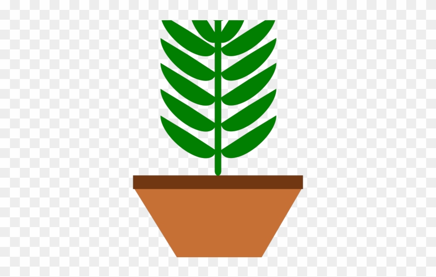 Baby plant clipart graphic free download Pot Plant Clipart Baby - Clipart Plante Verte - Png Download ... graphic free download