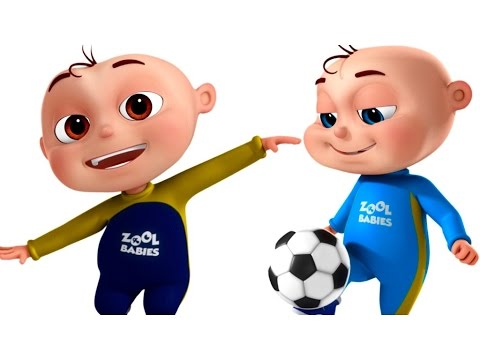 Baby playing football clipart library Five Little Babies Playing Soccer (FootBall) | Videogyan 3D Rhymes |  Cartoon Animation For Kids library