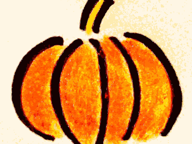 Baby pumpkin with bow clipart svg black and white library Drawn Pumpkin - Free Clipart on Dumielauxepices.net svg black and white library
