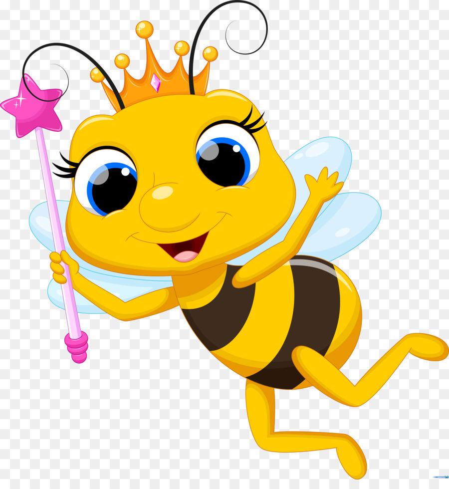 Baby queen bee clipart transparent stock Queen Bee Clipart - Making-The-Web.com transparent stock