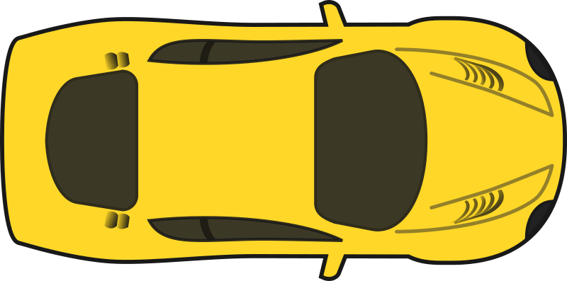 Yellow car clipart svg royalty free stock Free to use and share yellow car clipart | ClipartMonk - Free Clip ... svg royalty free stock