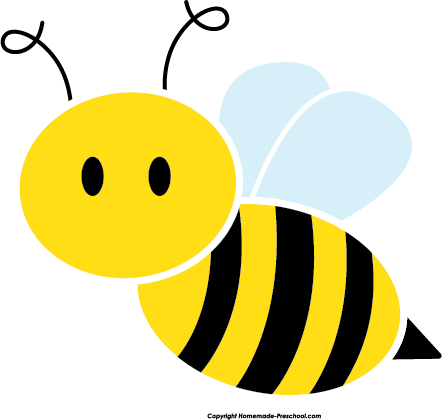 Bee image clipart logo graphic transparent stock Cute Bee Clipart | Clipart Panda - Free Clipart Images | art | Bee ... graphic transparent stock