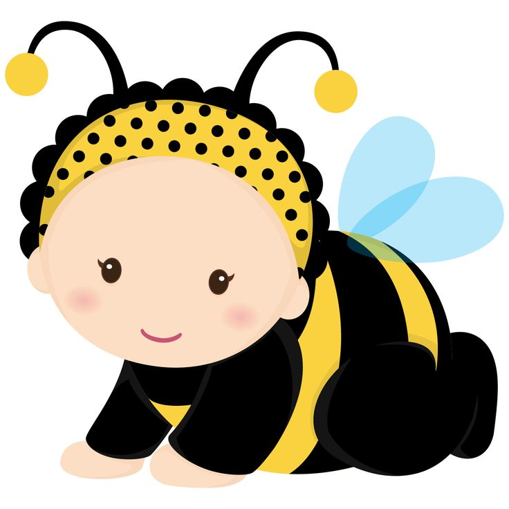 Baby reveal bumble bee clipart graphic royalty free Bumble Bee Template Printable Clipart   Free download best Bumble ... graphic royalty free