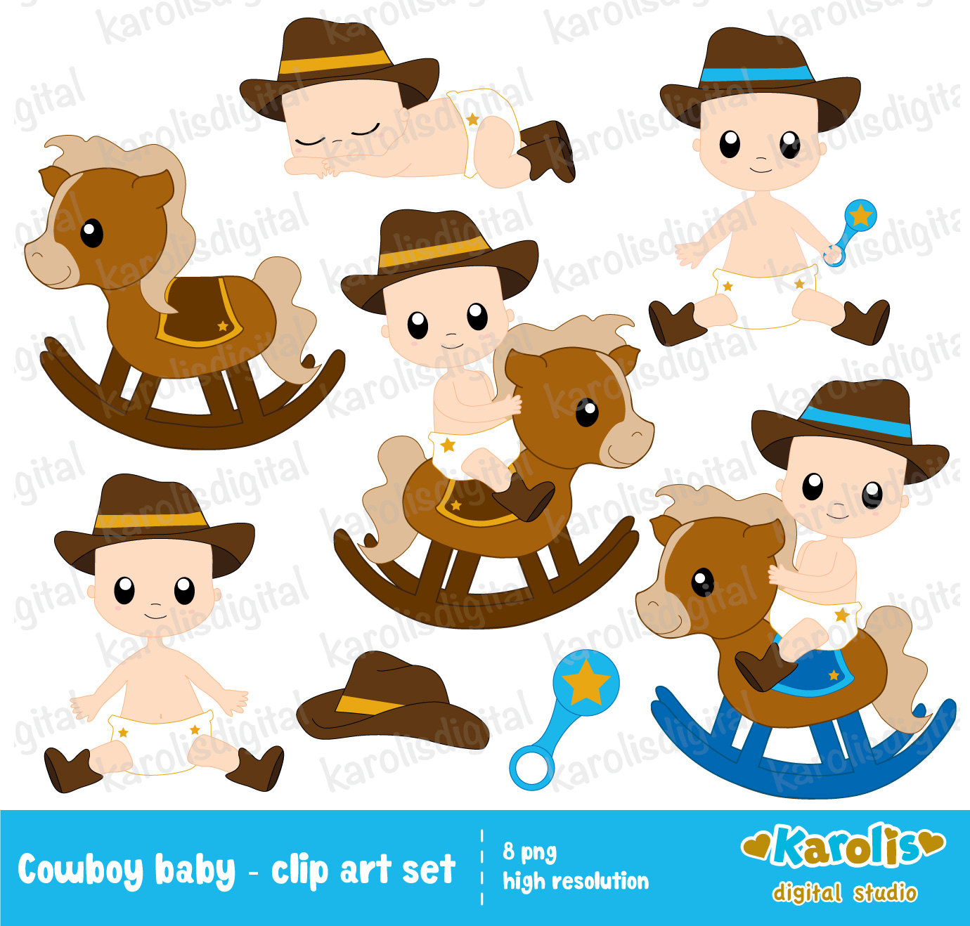 Baby rodeo clipart clip art transparent library Baby cowboy clipart 2 » Clipart Station clip art transparent library