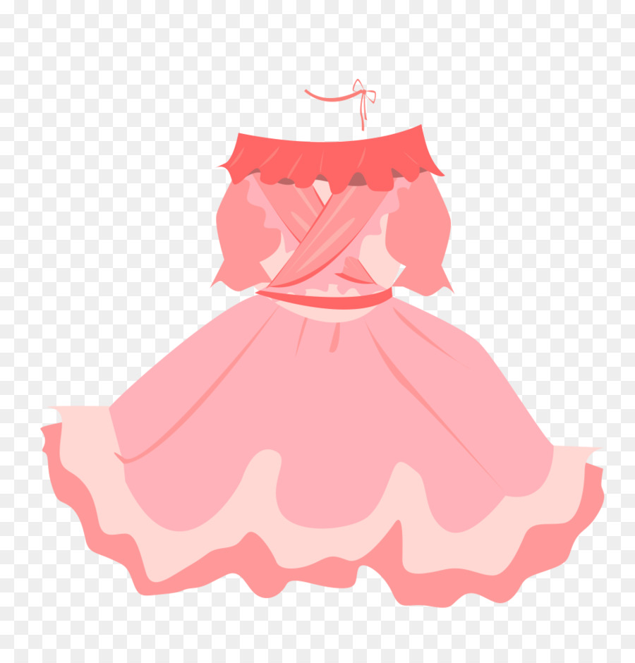 Baby ruffle skirt clipart png clip library download Woman Cartoon png download - 990*1031 - Free Transparent Skirt png ... clip library download