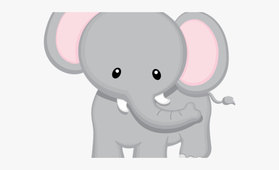 Small animal clipart vector library library Baby Animal Clipart Big Small Elephant - Baby Safari Animals Clipart ... vector library library