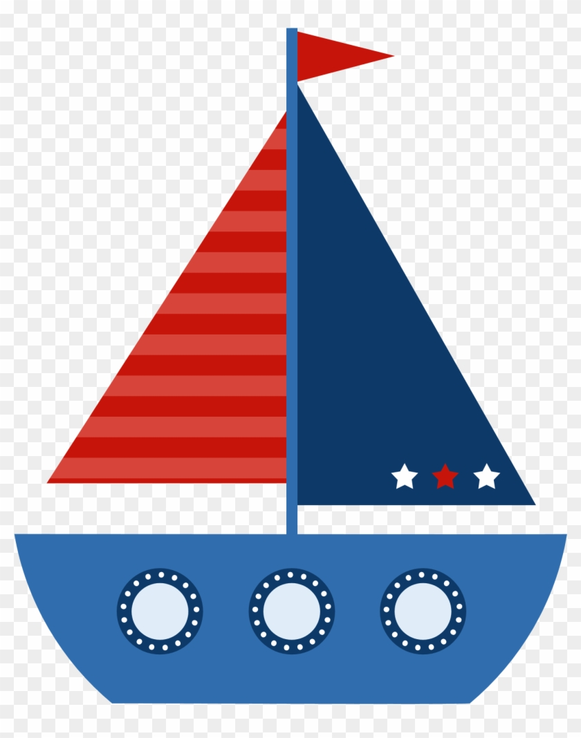 Baby sailboat clipart