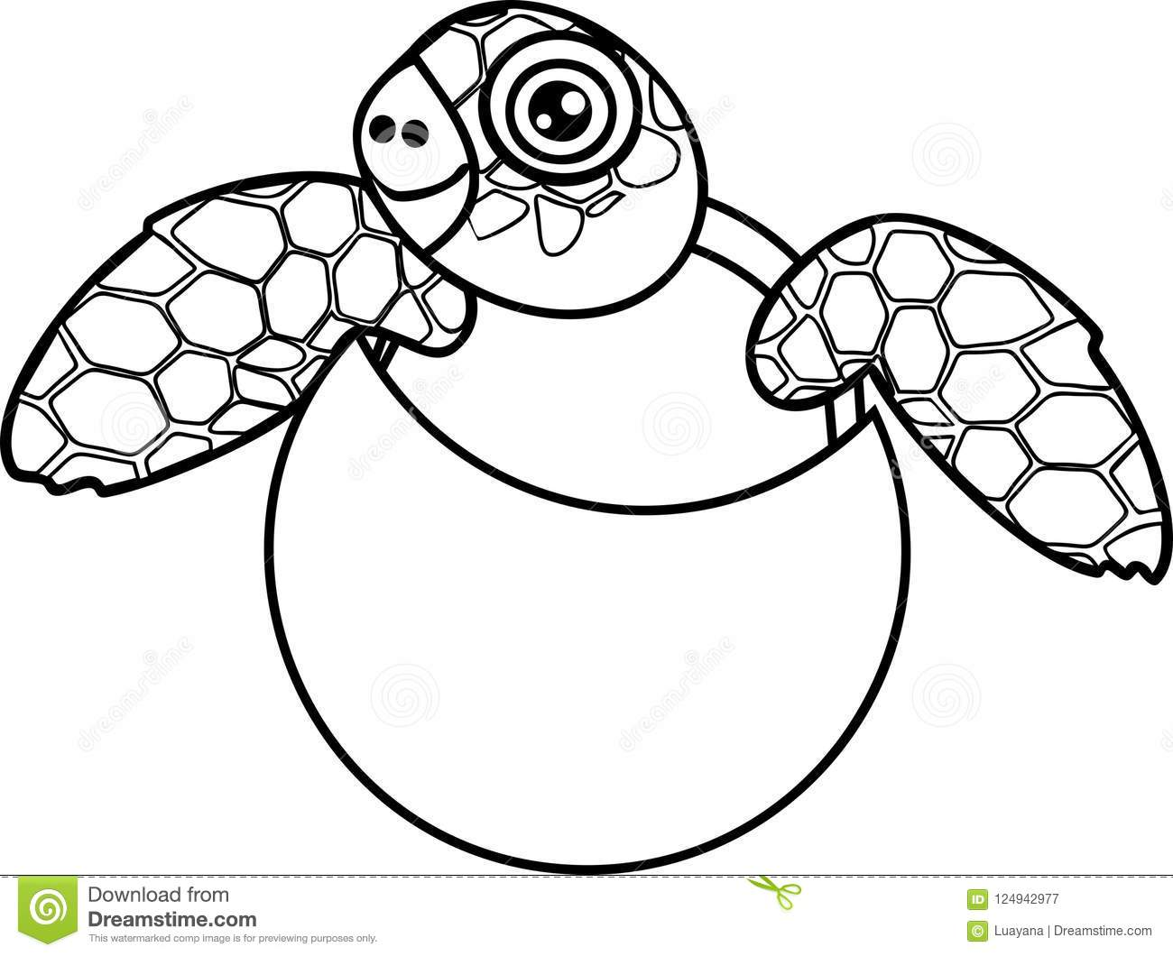 Baby sea turtle clipart black and white image free stock Sea Turtle Drawing For Kids | Free download best Sea Turtle Drawing ... image free stock