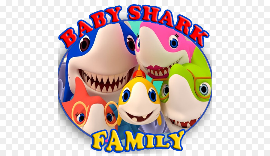 Baby shark pinkfong family clipart png royalty free download Baby Shark Fish png download - 512*512 - Free Transparent Baby Shark ... png royalty free download