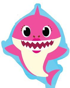 Baby shark pinkfong family clipart graphic black and white library Image result for pinkfong baby shark printables free   Gian in 2019 ... graphic black and white library