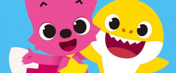 Baby shark pinkfong family clipart clip art royalty free stock Pinkfong is K-pop for the next generation - ABC News clip art royalty free stock