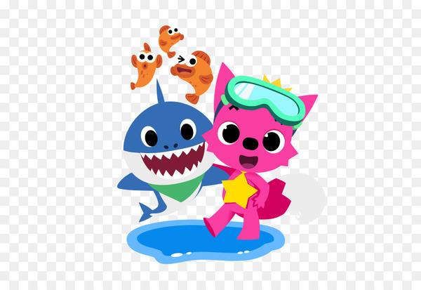 Baby shark pinkfong family clipart vector transparent download Pinkfong Baby Shark Song - little baby - Nohat vector transparent download