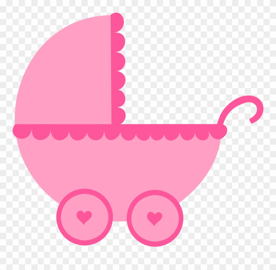 Baby shower images girl clipart clip transparent stock Baby Girl Clipart, Baby Shower Clipart, Baby Box, Baby - Carrinho De ... clip transparent stock
