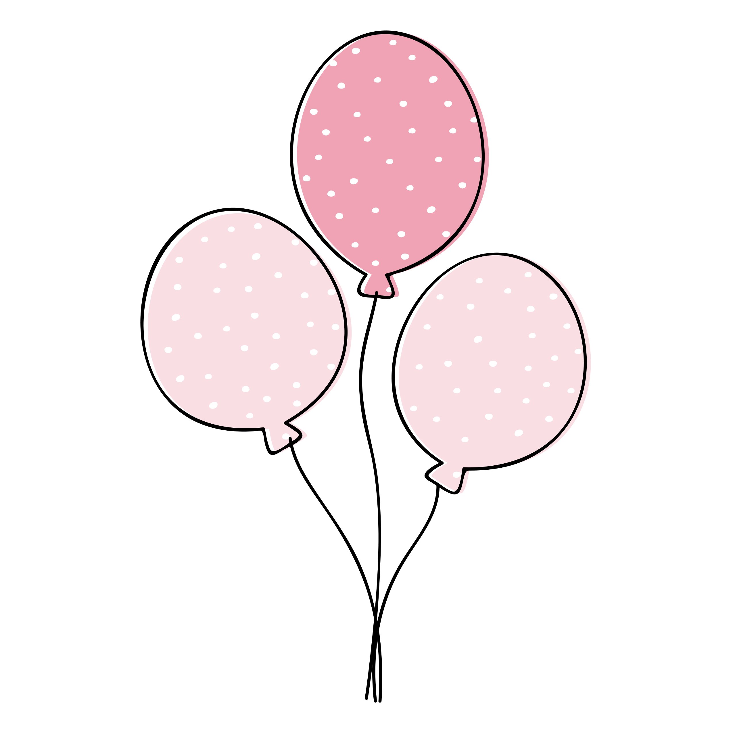 Baby shower balloon clipart free library FREE And Absolutely The Cutest Baby Shower Clip Art - Tulamama free library