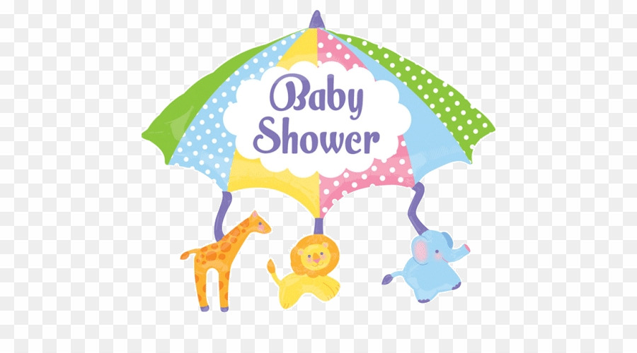 Baby shower balloon clipart png royalty free Baby Shower Umbrella Balloon PNG Balloon Baby Shower Clipart ... png royalty free