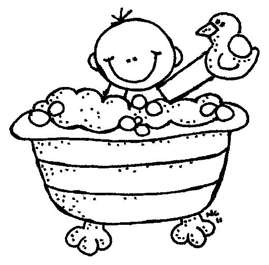 Take a shower clipart black and white jpg black and white library Baby Shower Black And White Clipart Tpoxrc - Clipart1001 - Free Cliparts jpg black and white library