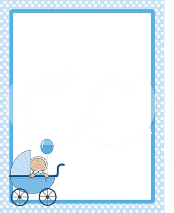 Baby shower borders clip art image library download Free baby shower clipart borders - ClipartFest image library download