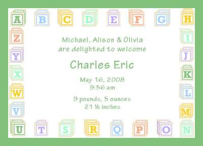 Baby shower borders clip art image royalty free stock Baby Blocks Border Clipart - Clipart Kid image royalty free stock