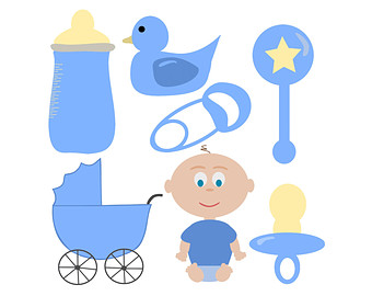 Baby shower clip art boy banner Baby shower boy clip art - ClipartFest banner