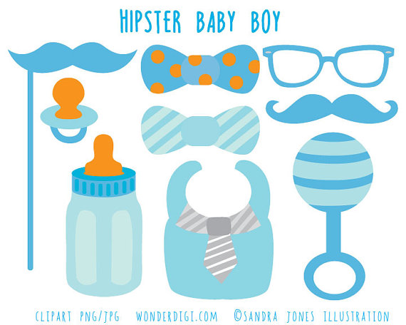 Boy images hipster . Baby shower clip art clipart