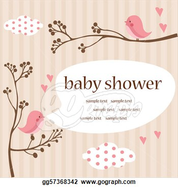 Baby shower clip art clipart. Free girl clipartfest