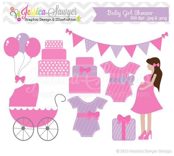 Baby shower clipart girl jpg free library Baby Girl Sprinkle Clipart - Clipart Kid jpg free library