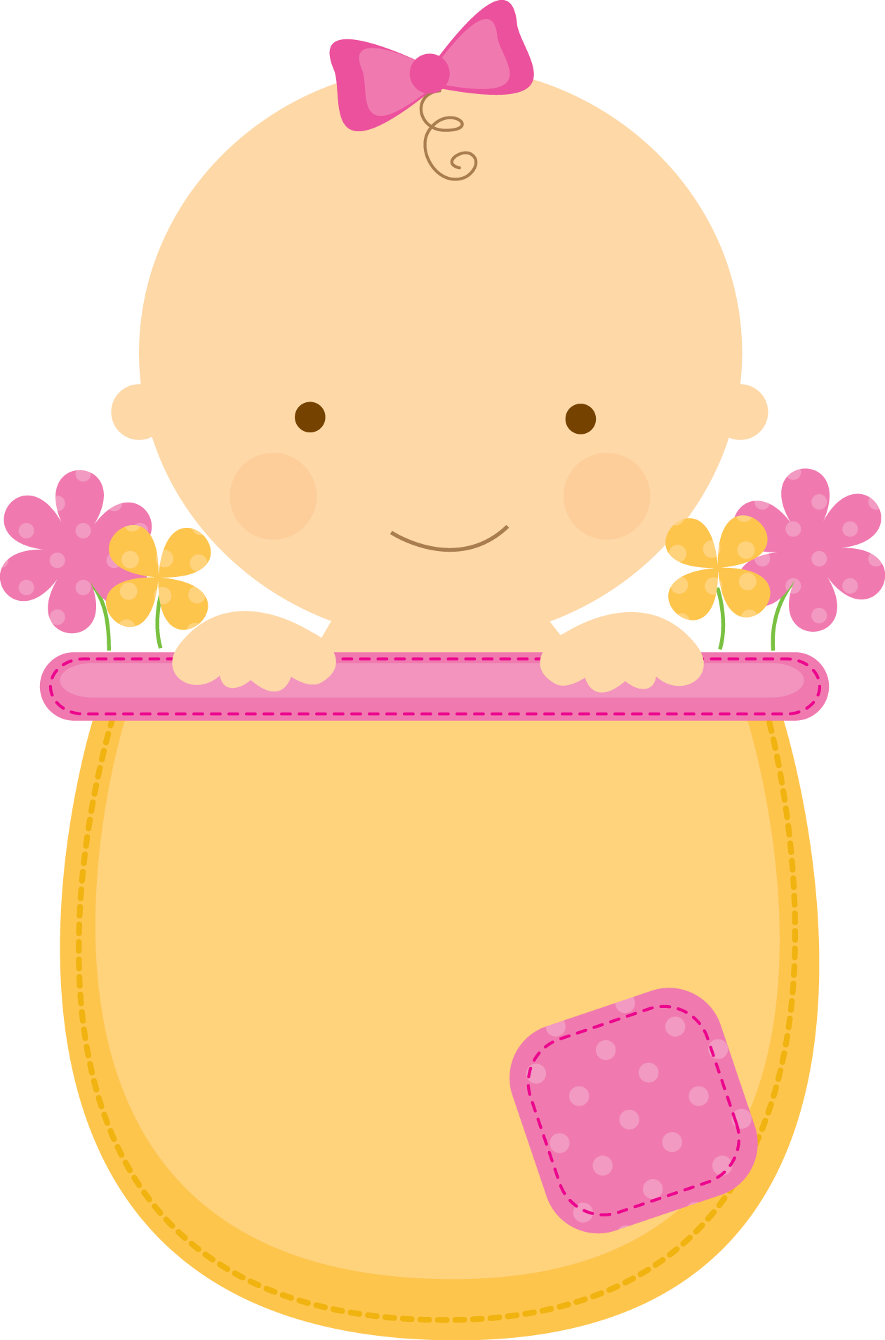 Baby shower clipart girl clip art royalty free library baby shower niña | Baby Girl | Pinterest | Babies, Clip art and ... clip art royalty free library