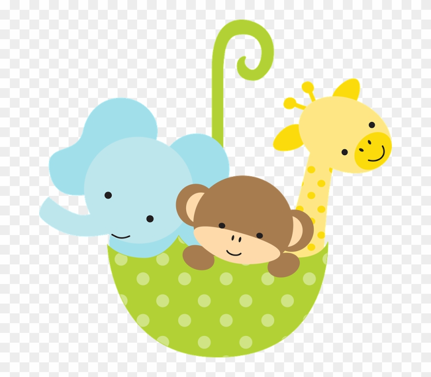 Imagenes para baby shower clipart svg freeuse library Safari & Zoo - Animalitos Para Baby Shower Clipart (#160319 ... svg freeuse library