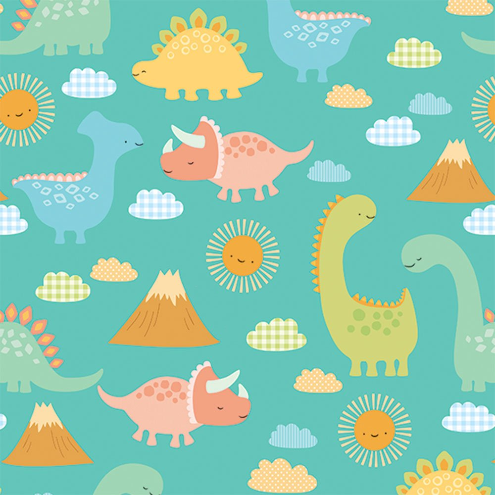 Baby shower dinosaur clipart image library Babysaurus Dinosaur Baby Shower Glossy Gift Wrapping Roll - 24\