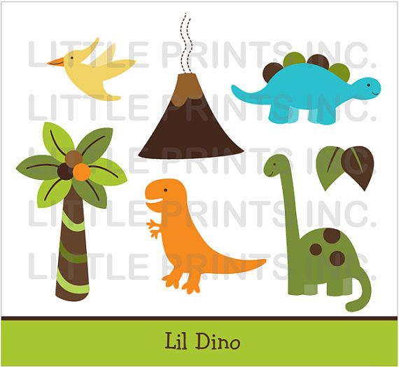 Baby shower dinosaur clipart picture black and white stock Dinosaur Clipart / Dinosaur Baby Shower / Dinosaur Birthday / Cute ... picture black and white stock