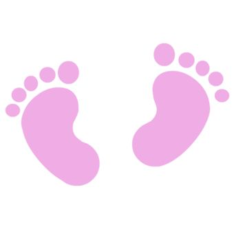 Baby shower footprints clipart png library library diy baby shower clipart - Google Search   Baby Paper   Baby shower ... png library library