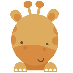 Baby shower giraffe clip art image transparent stock Giraffe Baby Shower Clipart - Clipart Kid image transparent stock