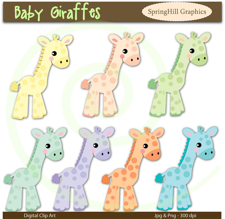 Baby shower giraffe clip art png free library Giraffe Baby Shower Clipart - Clipart Kid png free library