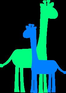 Baby shower giraffe clip art svg stock Boy giraffe clipart - ClipartFest svg stock