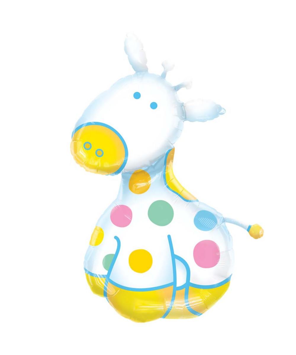 Baby shower giraffe clip art vector royalty free stock Giraffe Baby Shower Clipart - Clipart Kid vector royalty free stock