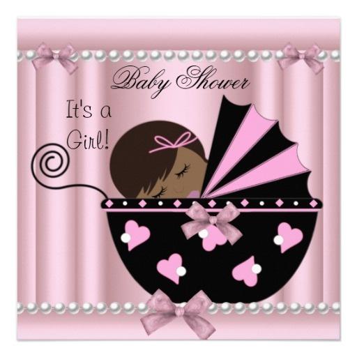 Baby shower girl clip art clip African american baby shower clipart girl - ClipartFest clip
