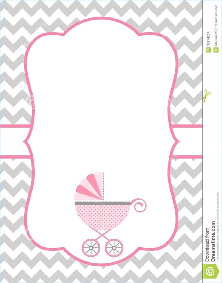 baby sprinkle invitations template | Buick | Free baby shower ... banner transparent