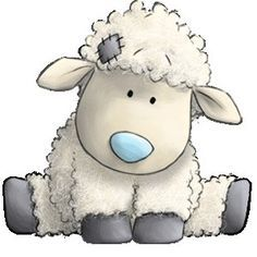 Baby shower lamb clipart vector black and white library Sheep Baby Shower Themes   Baby Shower Ideas   Sheep drawing, Blue ... vector black and white library