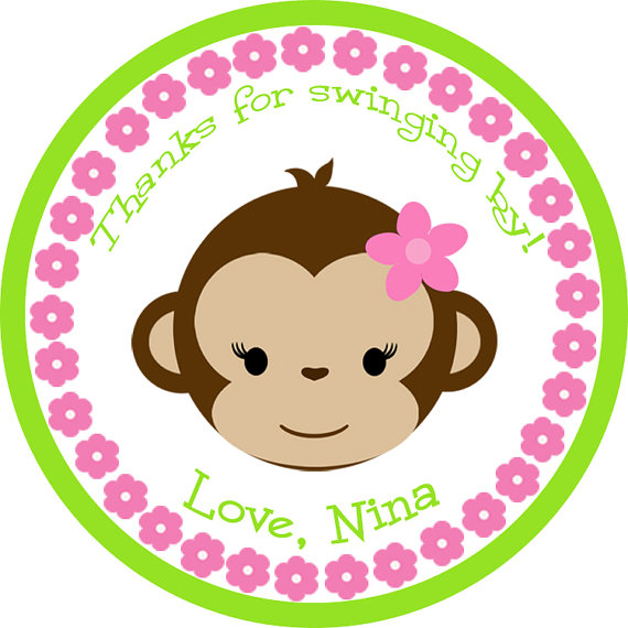 Sweet girl clipart clipartfest. Baby shower monkey clip art