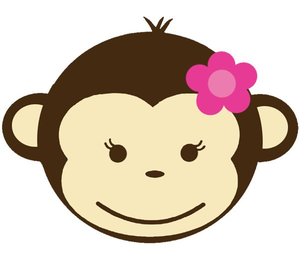 Baby shower monkey clip art banner freeuse library 17 Best images about Cakes - Monkeys on Pinterest | Cakes, Fondant ... banner freeuse library