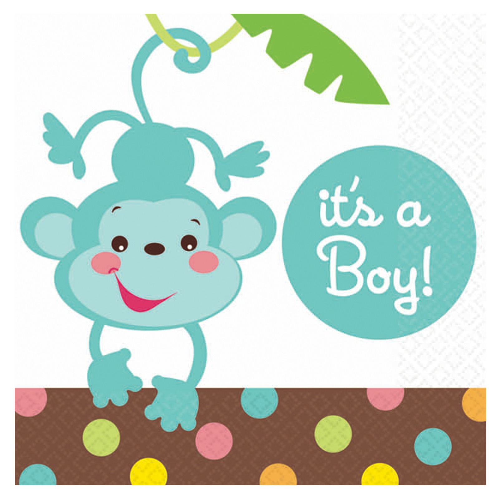 Clipart kid boy panda. Baby shower monkey clip art