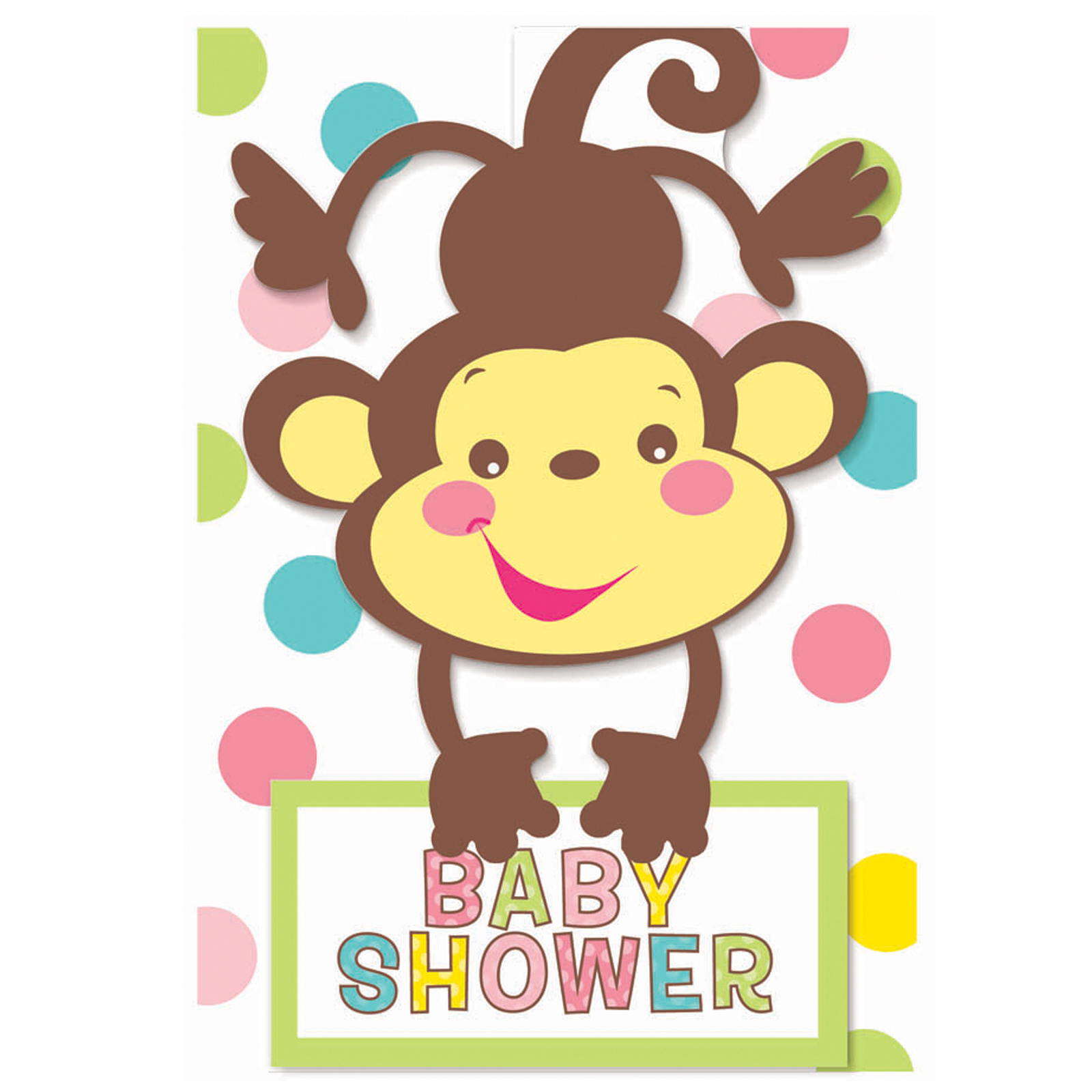 Clipartfest fisherprice . Baby shower monkey clip art