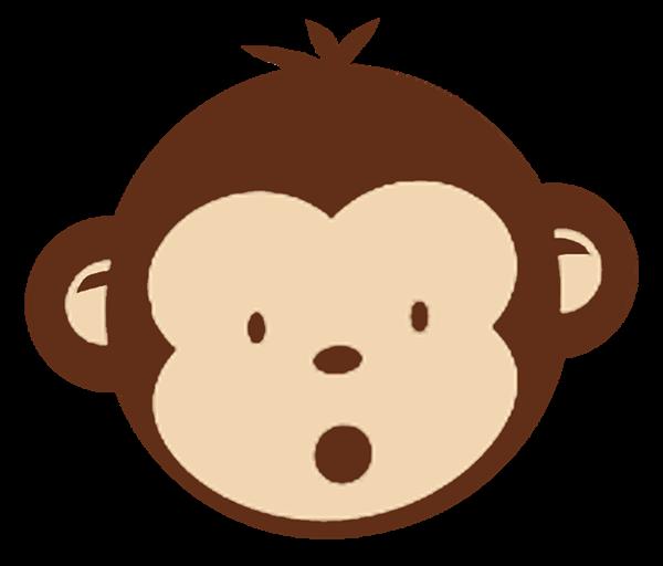 Baby shower monkey clip art clipart transparent Monkey baby shower clipart - ClipartFest clipart transparent