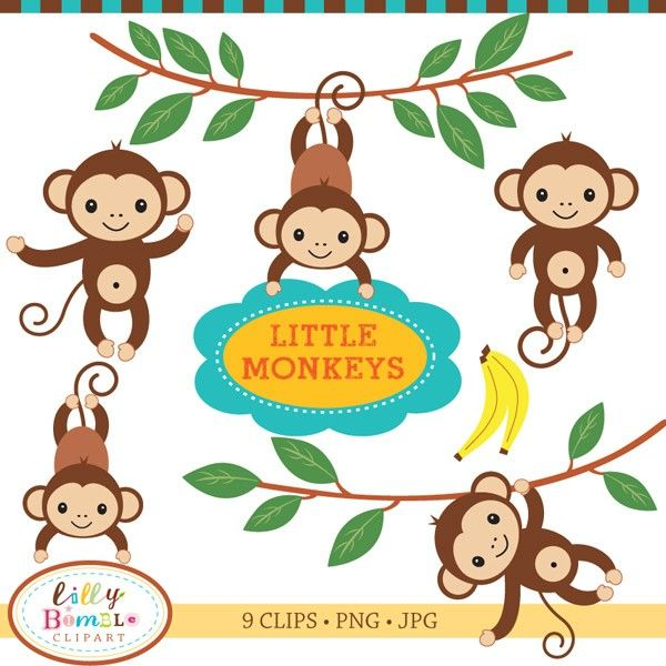 Baby shower monkey clip art.  best images about