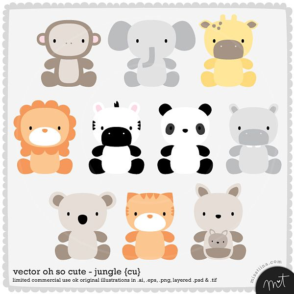 Baby shower noahs ark animals clipart clip black and white stock baby animal print outs for noahs ark baby shower | V&L baby shower ... clip black and white stock