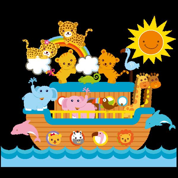 Baby shower noahs ark animals clipart black and white Noah\'s Ark - Cartoon Animal\'s Homepage | ANIMALS | Ark, Clip art ... black and white