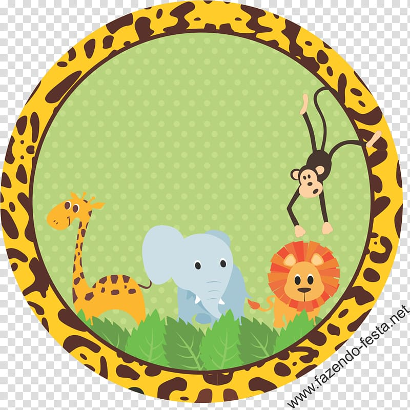 Baby shower safari background clipart clipart library stock Giraffe, elephant, lion and monkey , Safari Baby shower Label RCBX ... clipart library stock